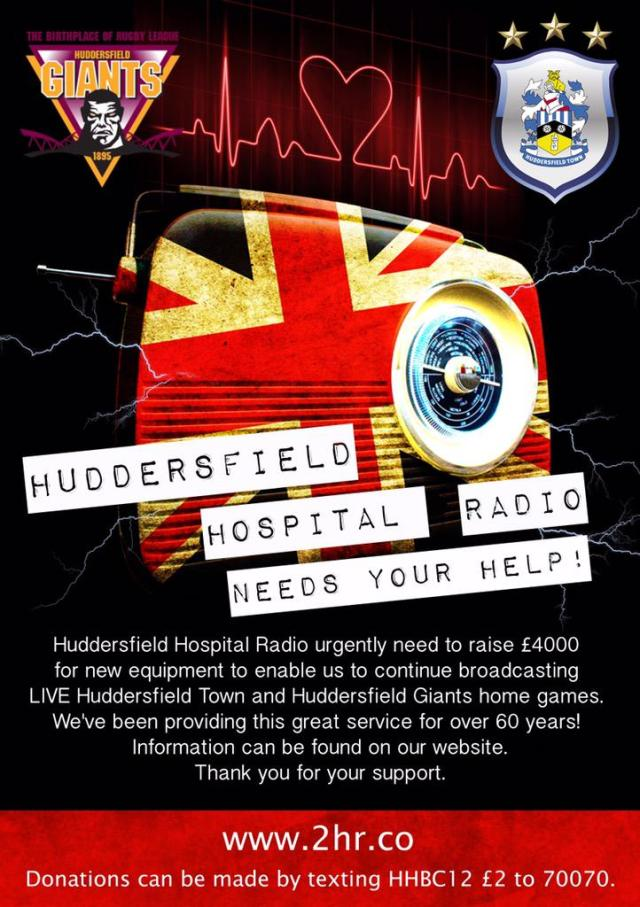 Art by Karl Baird Huddersfield Town and Huddersfield Giants badges used with kind permission
